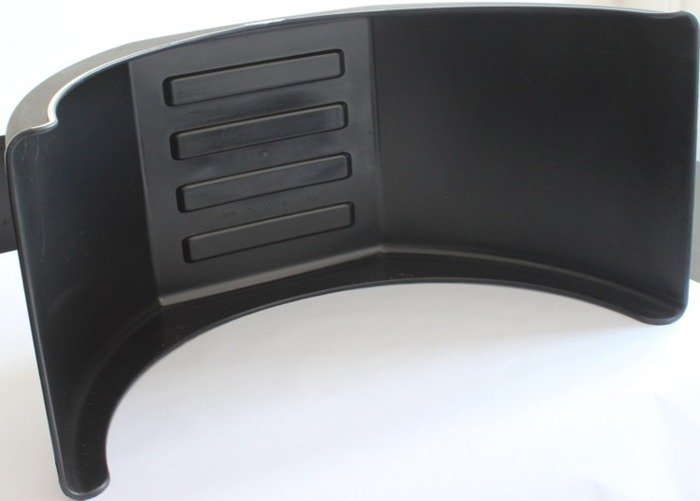 Aripă geamănă din plastic Domar D3115 pentru axă cu 4 roți
