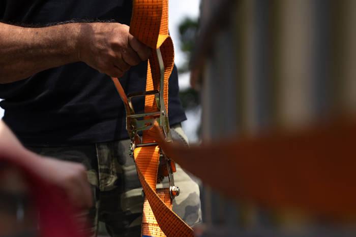 Chingă cu clichet 3 m/50 mm/4 t