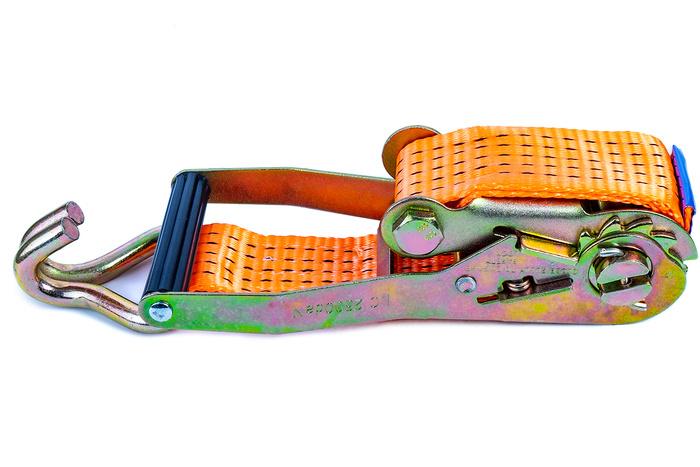 Chingă de ancorare cu clichet 6 m/50 mm/5 t