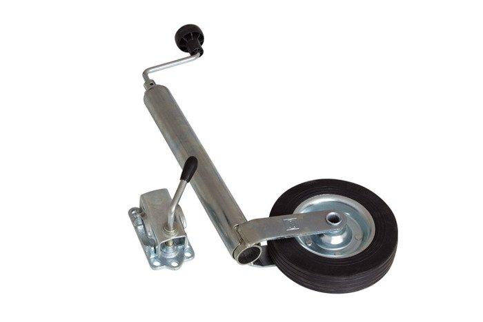Jockey wheel ST 48-200 VB and cast-iron clamp bracket 48 Winterhoff