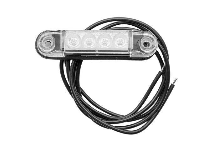 Lampă gabarit cu LED Horpol SLIM albă