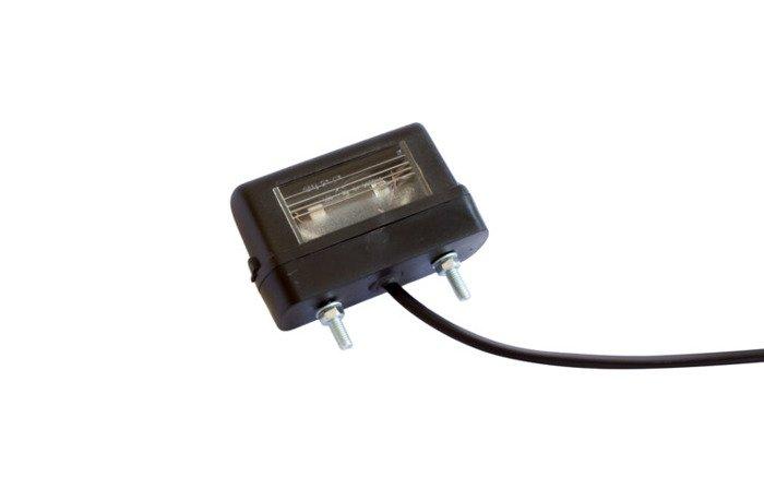 Lumini plăcuță înmatriculare pentru remorci auto Aspöck 12V DC/0,8m