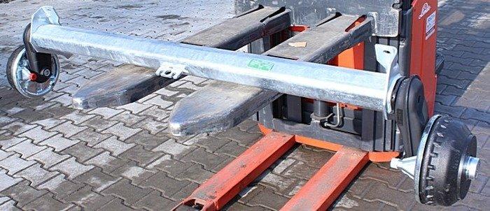 Osie cu frână pentru remorci AL-KO 1260 mm 1350 kg 5x112