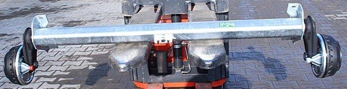 Osie cu frână pentru remorci auto AL-KO 1450 mm 1350 kg 5x112