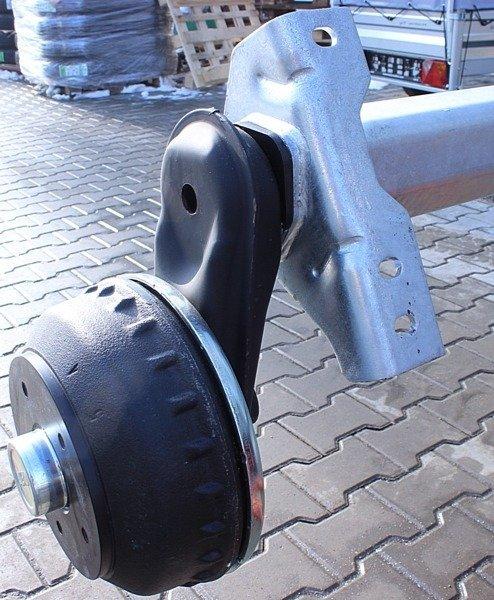 Osie cu frână pentru remorci grele AL-KO 1400 mm 1350 kg 5x112