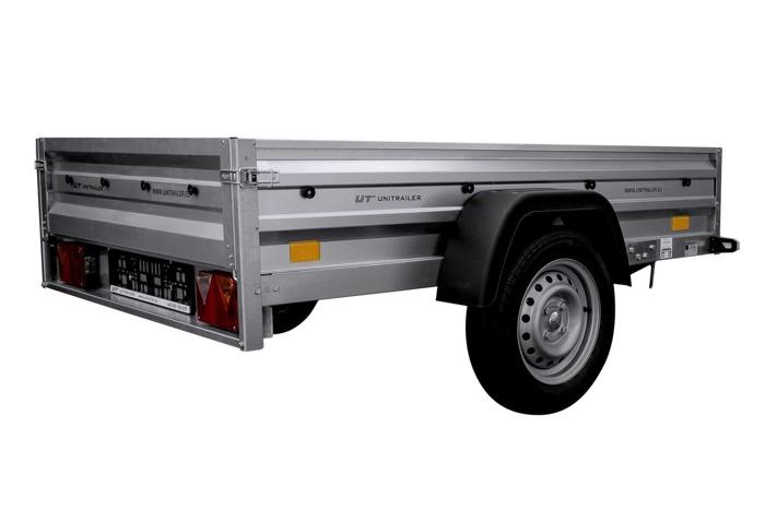 Remorca transport 200 x 125 Garden Trailer 205 Unitrailer 750 KG DMC largă