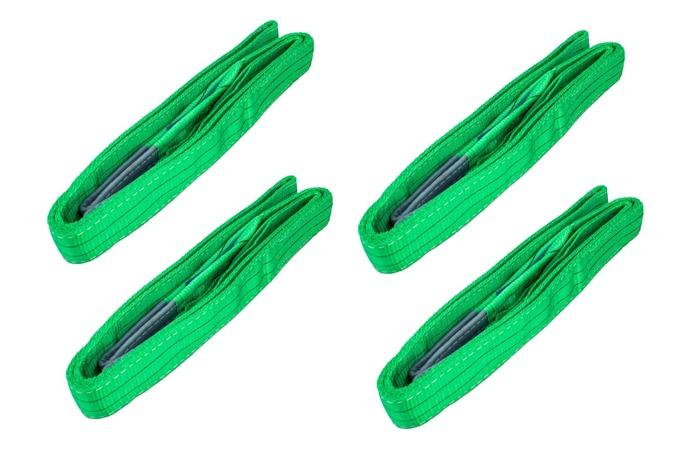 SET: 4 buc. benzi elastice pt. transport 2T/3M 60 mm cu ștreanguri UNITRAILER