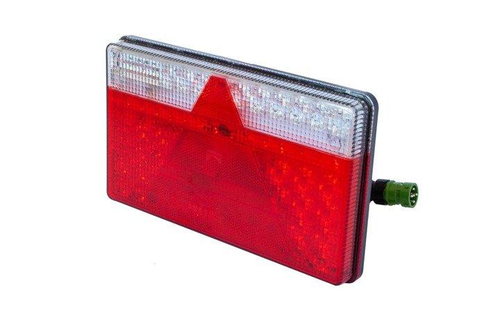 SET: Lampi spate Aspöck Multiled II LED cu 5 pini stângă+dreaptă