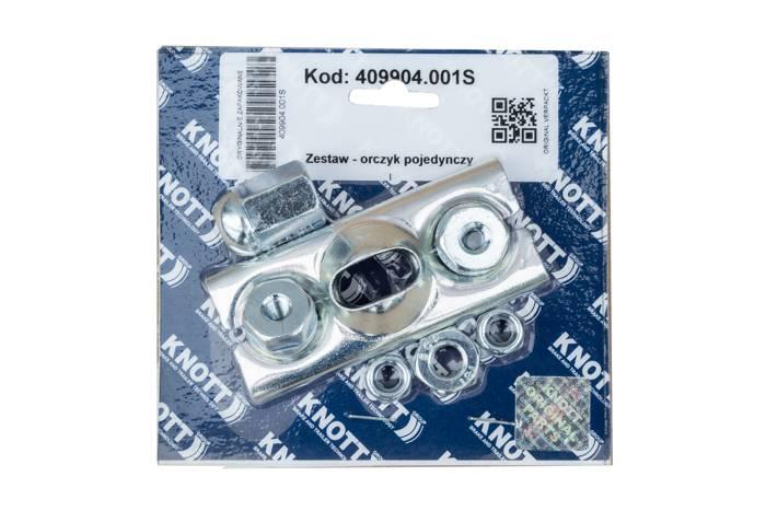 Stabilizator pentru cabluri frână KNOTT pentru remorci cu axă singură.