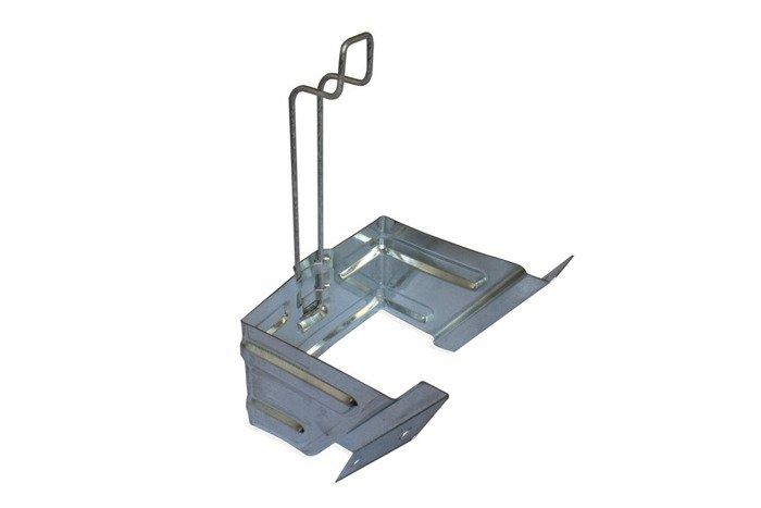 Suport pentru cale roți G46 din oțel galvanizat